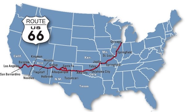 map-of-route-66