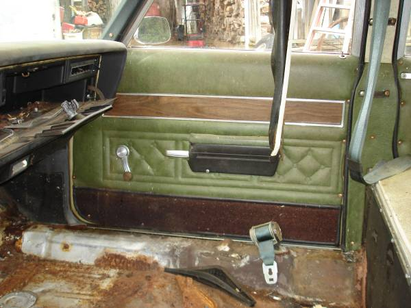 1974 Oldsmobile Hearse Interior