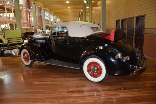 1937 Packard 120 convertible side