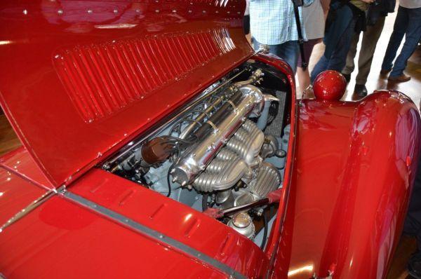 1938 Alfa Romeo 6C2300MM spider engine