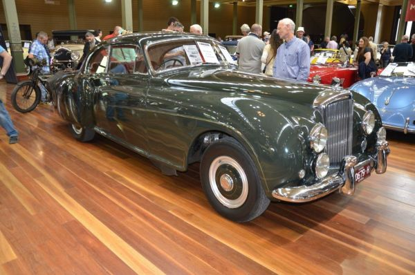1954 Bentley Continental R front