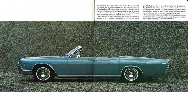 car show classic 1966 67 lincoln continental convertible end of an era. Black Bedroom Furniture Sets. Home Design Ideas