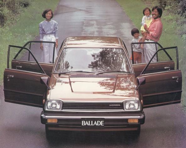 1980 Honda Ballade