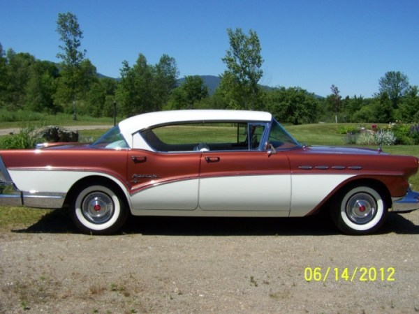 Buick Roadmaster 1957 riviera side b