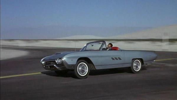 Ford Thunderbird 1963 sports roadster