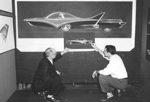 Ford design 1955