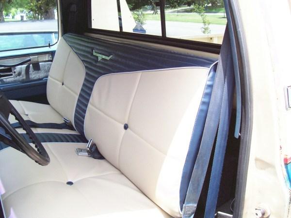 GMC 1986 seat2