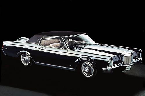 Lincoln 1968 Conti-Mark-III