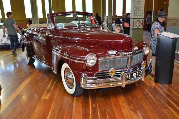 1948 Mercury convertible