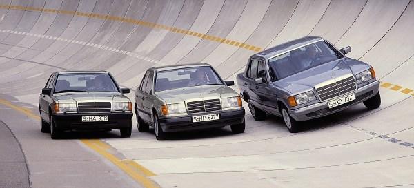 1985 Mercedes-Benz sedans