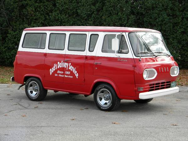 Craigslist Find 1965 Ford Falcon Van As Close To Showroom Fresh