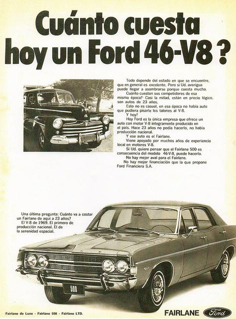 Ford ARG Fairlane 1969 ad
