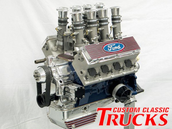 Ford Y Blocl Weslake hads