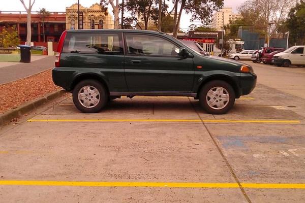 Honda HRV side