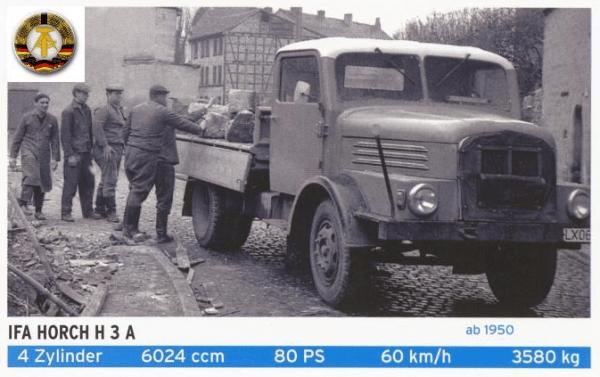 Horch H3 lastwagen