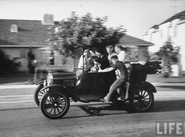 Life Model T Family 1956