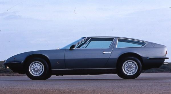 Maserati Indy profile