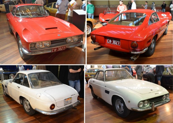 1961 Osca 1600 Boneschi and Fissore coupes
