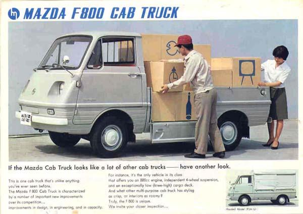 bongo cab truck ad