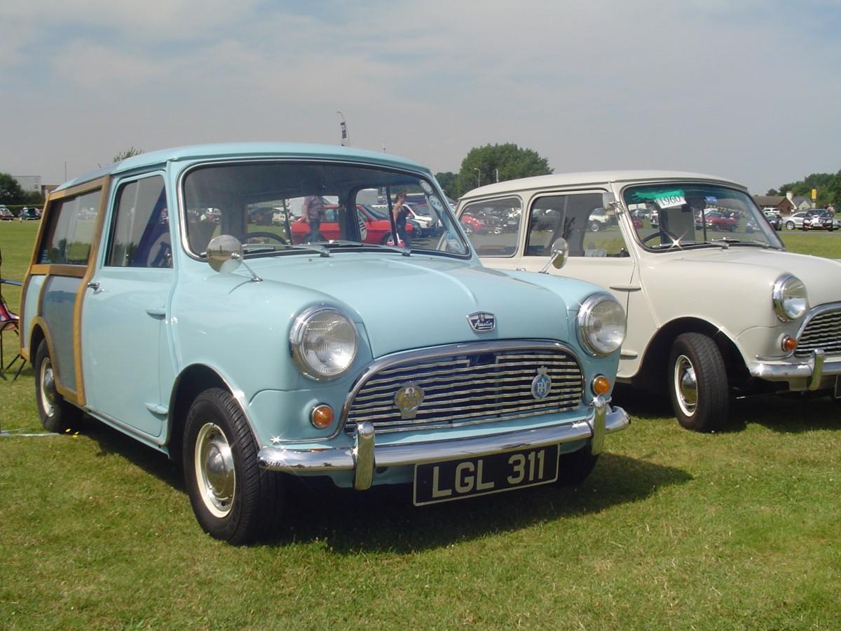 car carshow classic 1960 austin seven mini the future started here. Black Bedroom Furniture Sets. Home Design Ideas