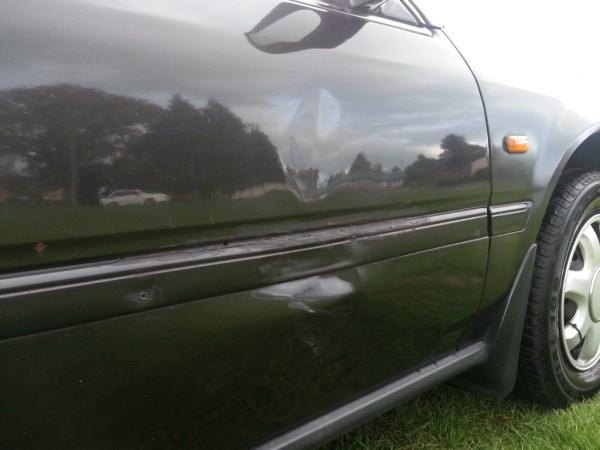 1993 CB HONDA Ascot FBX sedan grey dent