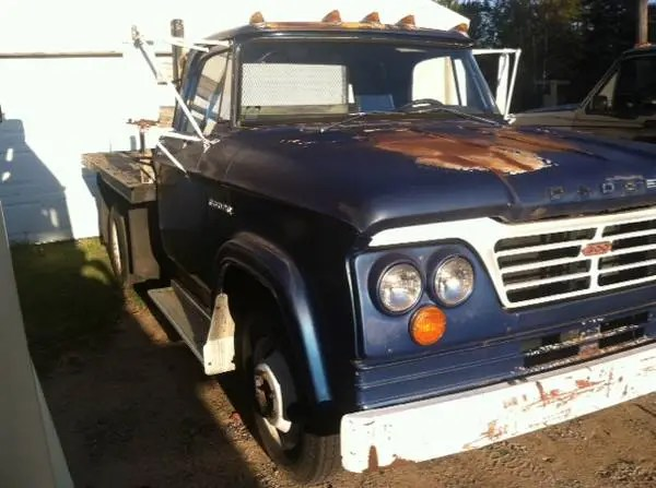 Idle Hands and the Craigslist Classic: 1964 Dodge D300–Daddy Wants a