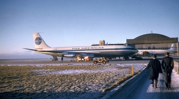 Boeing 707 Iceland1958