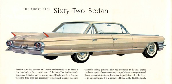 Cadillac 1961 short deck