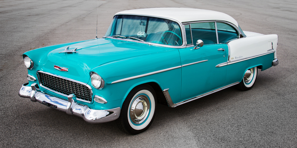 Curbside classic 1955 chevrolet the icar gm s greatest hit - 1955 chevrolet belair sport coupe ...