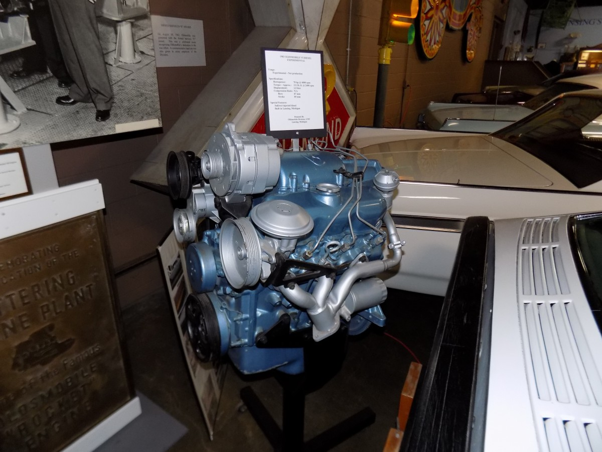 Cc Weird Engines Outtake Oldsmobile V5 Diesel Grasping At Straws Curbside Classic