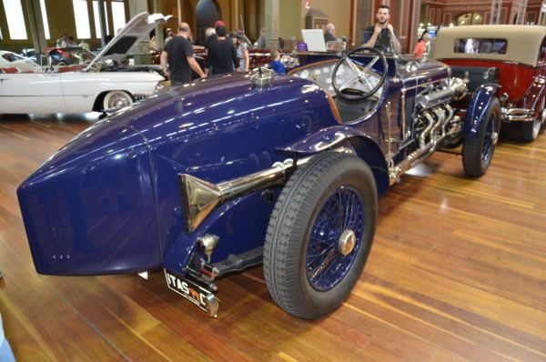 1923 Delage CO2 Hispano Suiza Special rear