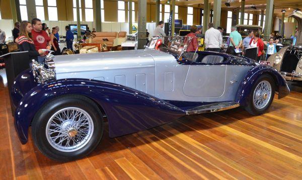 1932 Delage D8S side