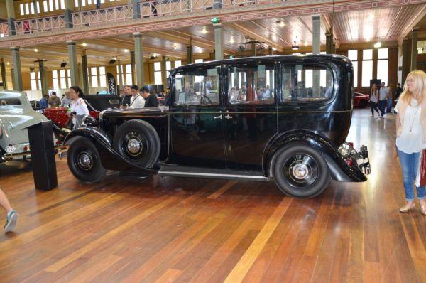 1936 Daimler limousine