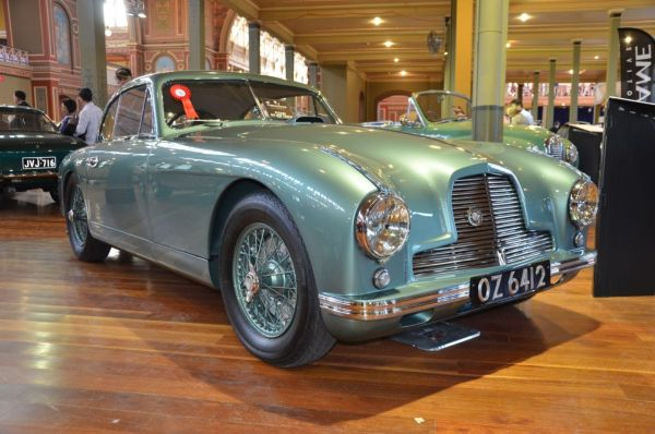 1952 Aston Martin DB2 Mk2 low