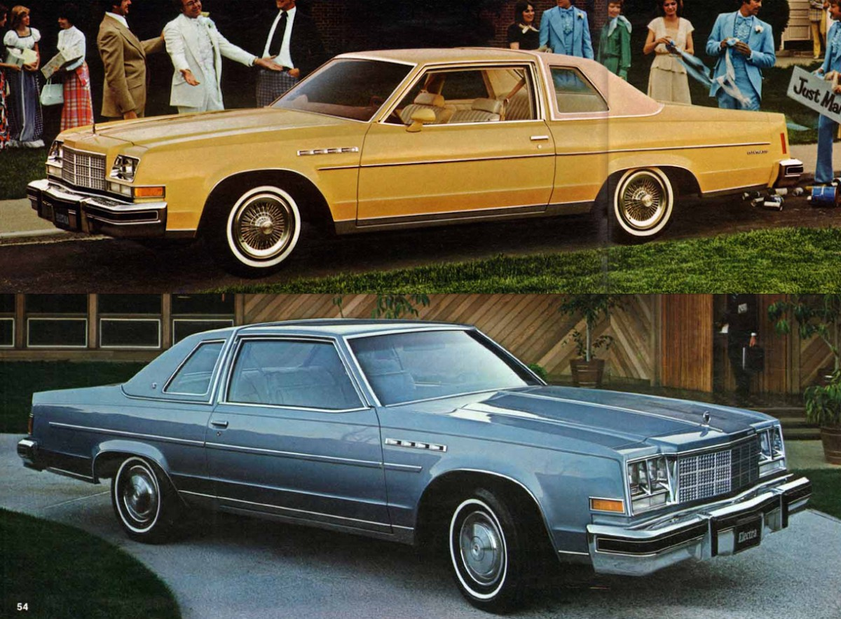Over the course of its eight year run the electra went through three distinct styling periods 1977 1978 models were characterized by their vertical