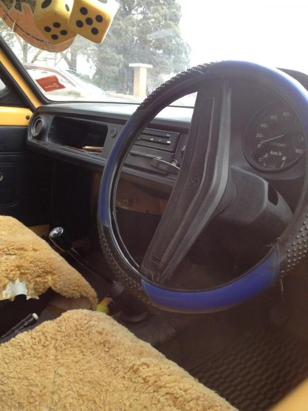 1980 MORRIS Marina can orange  interior fr2