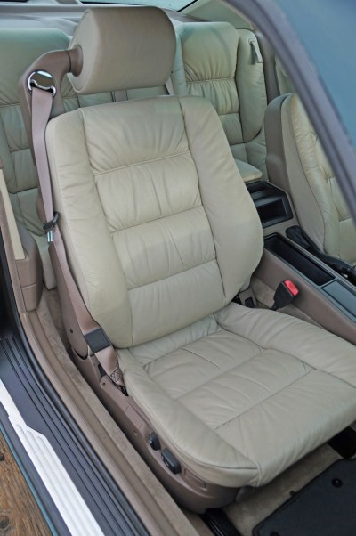 1995 8series front seat