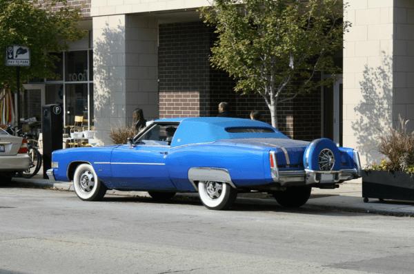 Cadillac 1974 eldorado pimp mobile