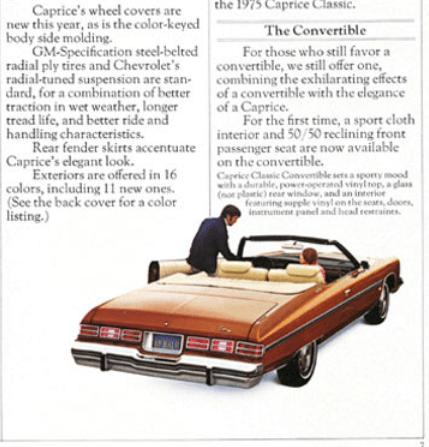 Chevrolet 1975 conv br