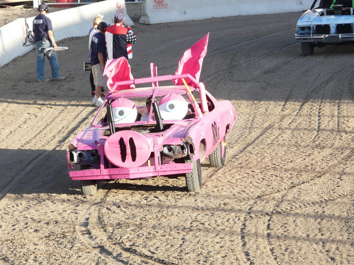 Demolition derby car paint job ideas