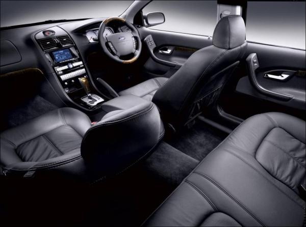 Ford BA Fairlane interior