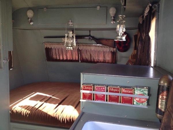 Packard 1937 RV spice rack