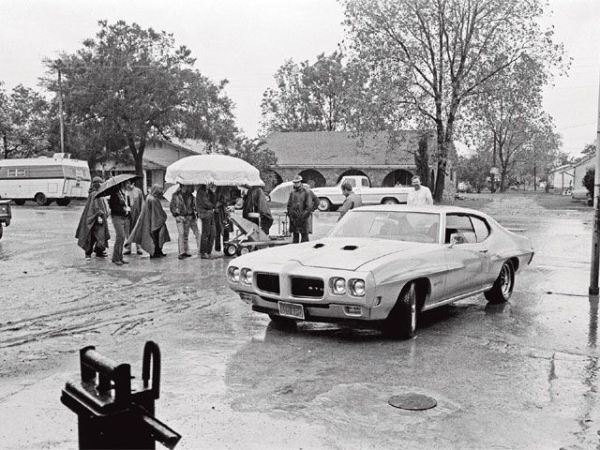 Two lane blacktop shoot