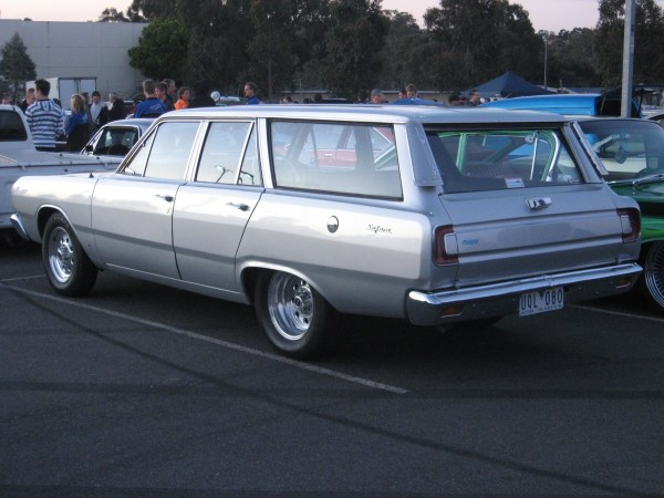 VE wagon rear