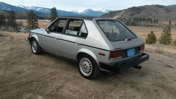 Craigslist Find: 1986 Dodge Omni GLH – A Bargain At $1000