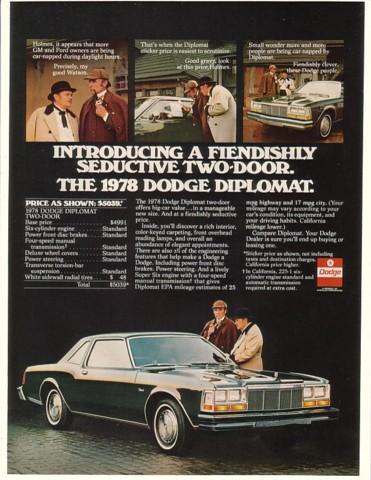 1978 diplomat