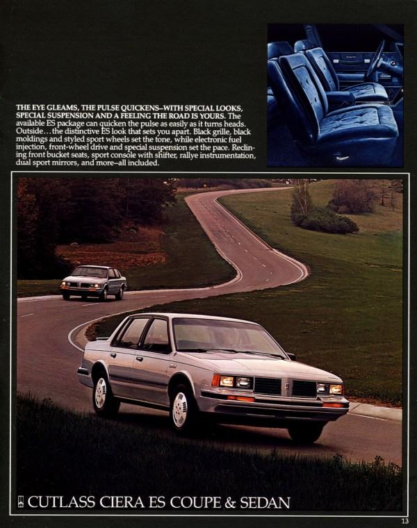 1984 cutlass ciera ES
