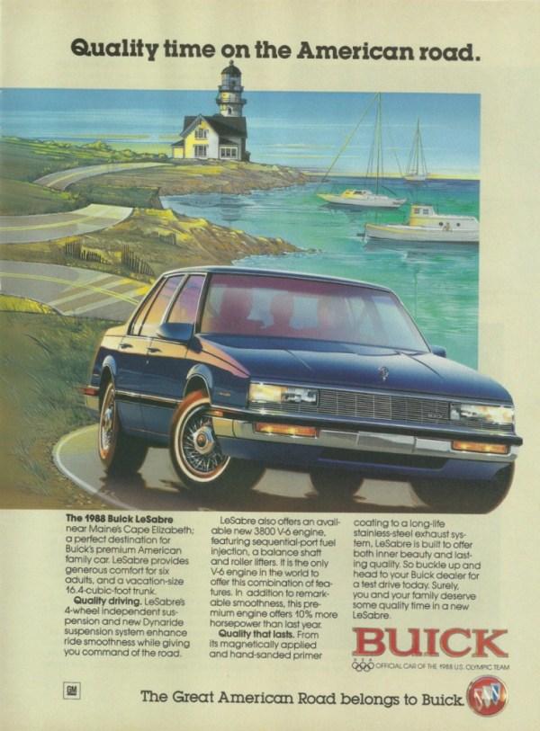 1988 Buick LeSabre ad