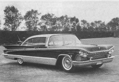 Buick 1959 triplefin