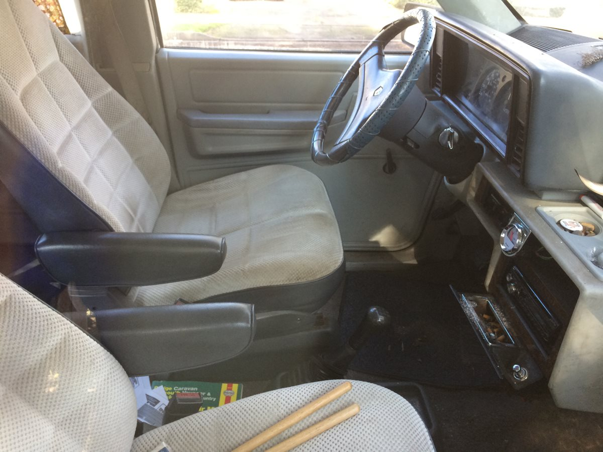 cc outtake 1987 dodge caravan rare five speed stick shift five rh  curbsideclassic com 1990 Dodge